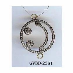 Diamond Beads Pendant