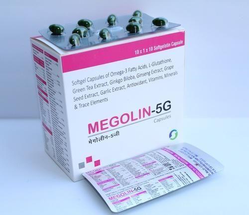 Megolin-5G Capsules, Packaging Type: Alu Alu