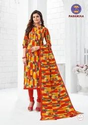 MFC Pashmina Vol-10 Cotton Dress Material Catalog Collection