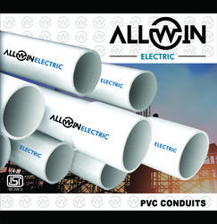 Allwin Electric 25mm HMS (Bold) PVC Conduit Pipes