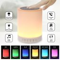 Multi-Function Wireless LED Bluetooth Speaker Touch Lamp