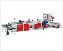 Fully Automatic Soft Loop Handle Bag Making Machine