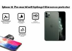 Apple Iphone 11 Pro Max Soft 3d Hydrogel Screen Protector, Packaging Type: Packet, Thickness: 0.33mm