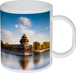 Polymer White Mug