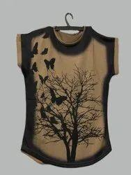 Ladies T-Shirt Top (DNH4)