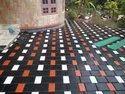 Inter Locking Tile Work For Flooring