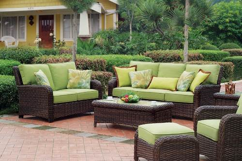 Global Corporation Gray Wicker Rattan Furniture