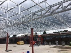 Lightweight Steel Structures, Construction