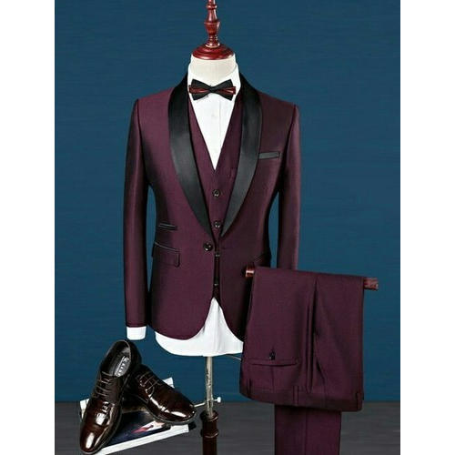 Maroon Wedding Suit