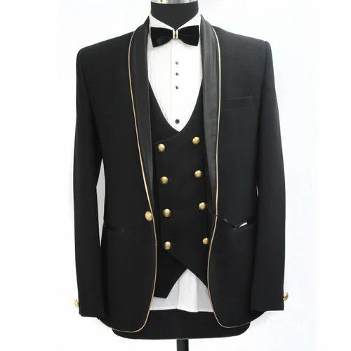 8fff4a8e 3-Piece Suit Party Wear Tuxedo Suit, Rs 5500 /piece, Yug ...