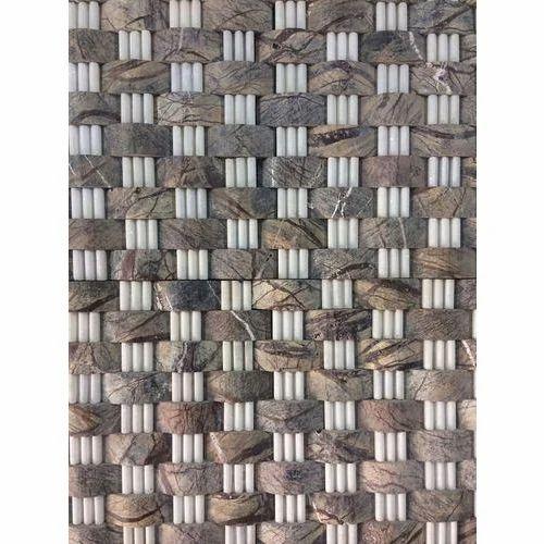 Matt Stone Elevation Wall Tiles, Thickness: 5-12 mm