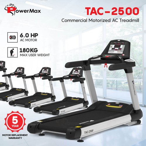 Tac 2500 Commercial Motorized Ac Treadmill