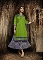 Printed Rayon Traditional Kurti