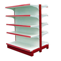 Double Sided Supermarket Display Rack