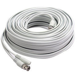 White Security Camera Cable