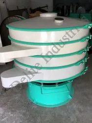 Semi-Automatic Vibrating Sieve Machine