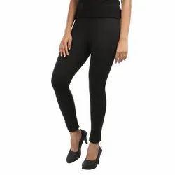 Plain Modern Style Leggings