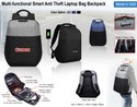 Multi-Functional Smart Anti Theft Laptop Bag Backpack  H-1529