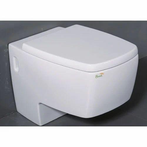 Water Closet   Semi Wall Hung Toilet