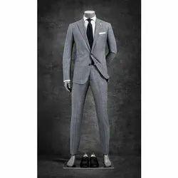 Plain Men Business Formal Suit