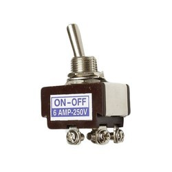 6 Amp DPST Toggle Switch