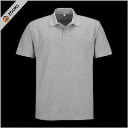 ZOOKS 13 Colors Collar Spun-Matty T Shirt 180 GSM, Size: S - XXL