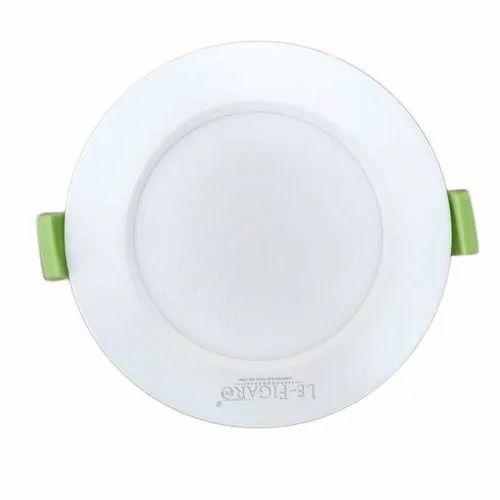 Cool White 6W Le-Figaro LED Panel Light, 220 V