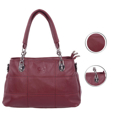 ea59068e1a757 Spiral Women  s Leather Handbag Wine Red (1004)