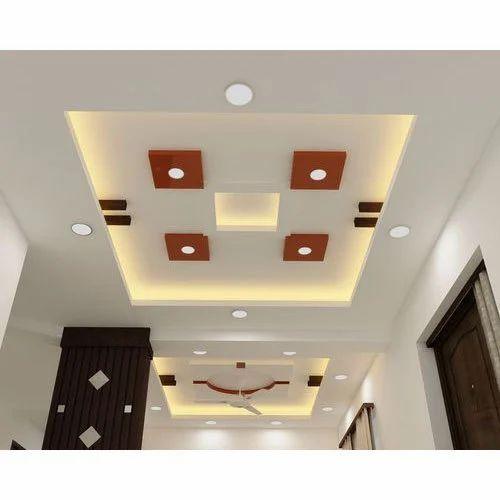 Modern Gypsum Ceiling: Modern Gypsum False Ceiling, जिप्सम फॉल्स सीलिंग, जिप्सम