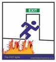 Emergency Back Light Exit Lights