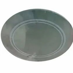 Transparent Plain Round Glass