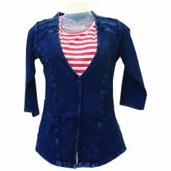 Ladies Jacket Top At Rs 1650 Piece Female Tops Ladies Ke Top