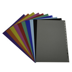 Spiral Binding Polypropylene Sheets