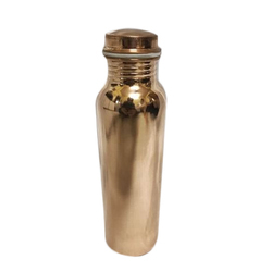Alif Glossy Mirror Finish Pure Copper Bottles