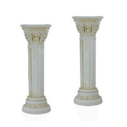 GP-A0826 White Plastic Pillar