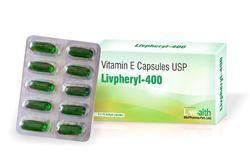 Vitamin E Capsules USP for Vitamin Deficiency