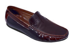 Zuxio Men's Brown Leather Party wear Loafer