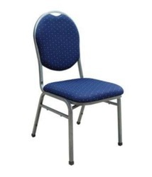 Zinc Coated Banquet Chair