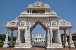 White Marble Temple Gate