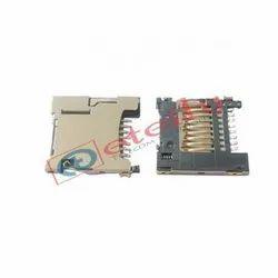 H Type Micro SD Push Card