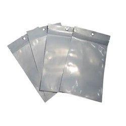 Silver Plain Laminated Pouches