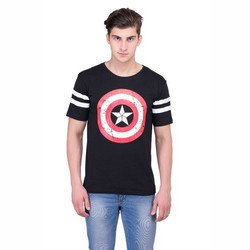 Captain America Men T Shirt