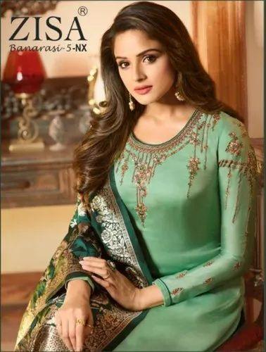 Meera Trendz Launch Zisa Daisy Cotton Printed Salwar Suit Collection