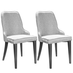 Stainless Steel Cushioned Restaurant Chairs