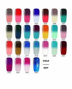 Nail Gel Polish Temperature Thermal Color Change Easy Soak Off Long Lasting 5738