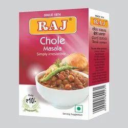 Raj Chole Masala, Packaging Type: Box