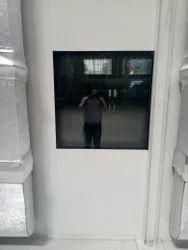 Double Glaze View Window