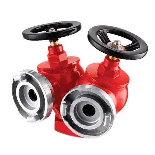Suction Fitting Fire Fighting Equipments Double Headed