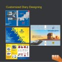 Customized Diary  Designing