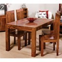 Danway Brown And Black Wooden Dining Table
